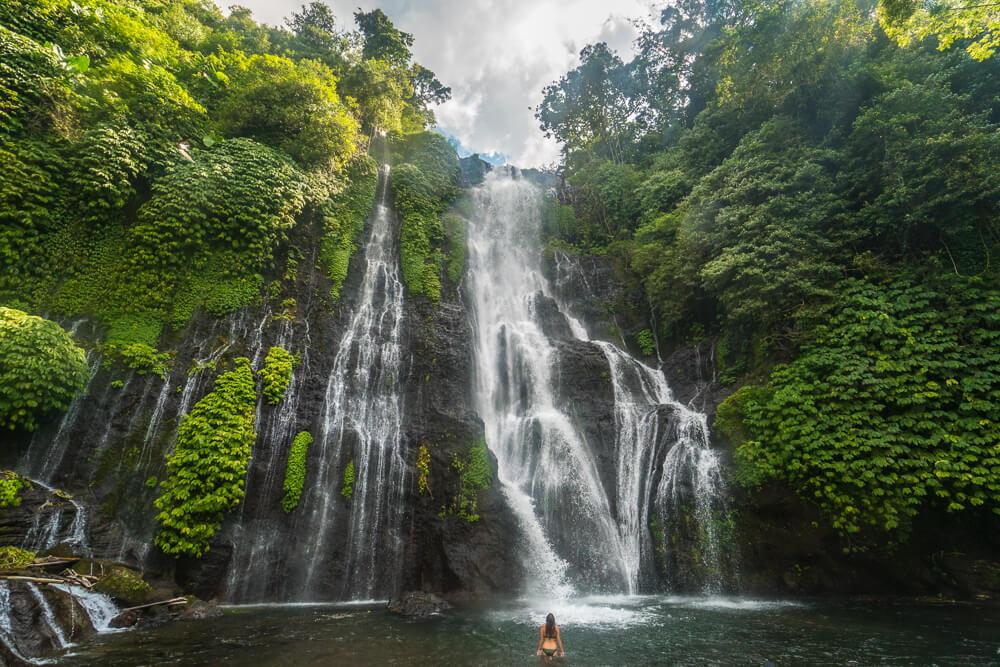 Banyumala Waterfall Trekking, Banyumala Twin Waterfall Trekking, My Bali Trekking Tours
