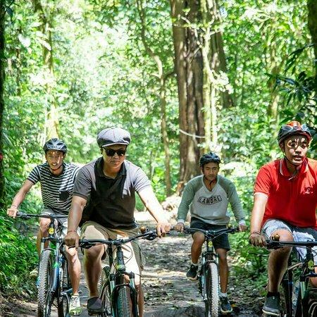 Cycling Tour, Cycling tour combination sambangan short trekking, My Bali Trekking Tours