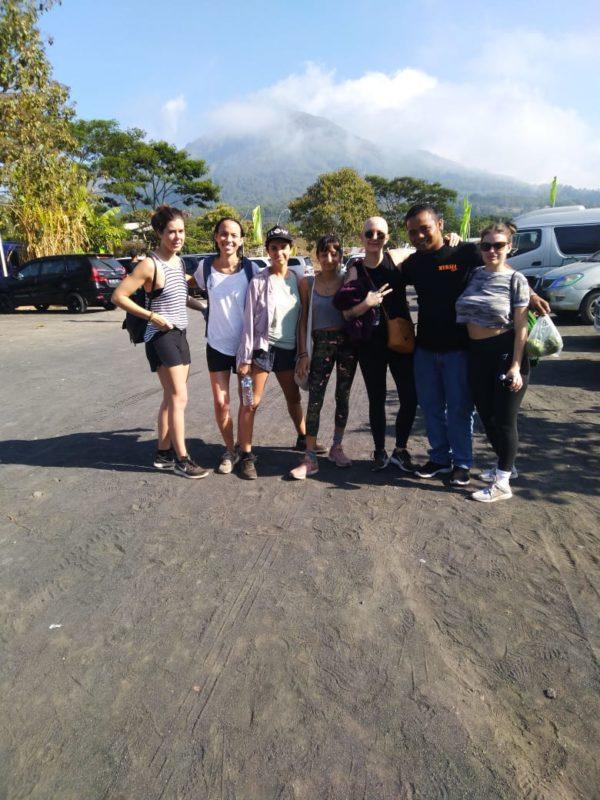 Mount Batur Sunrise Trekking Hot Spring, Batur Trekking + Hot Spring, My Bali Trekking Tours
